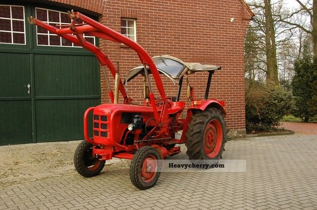 1959 Fahr  177S Agricultural vehicle Tractor photo
