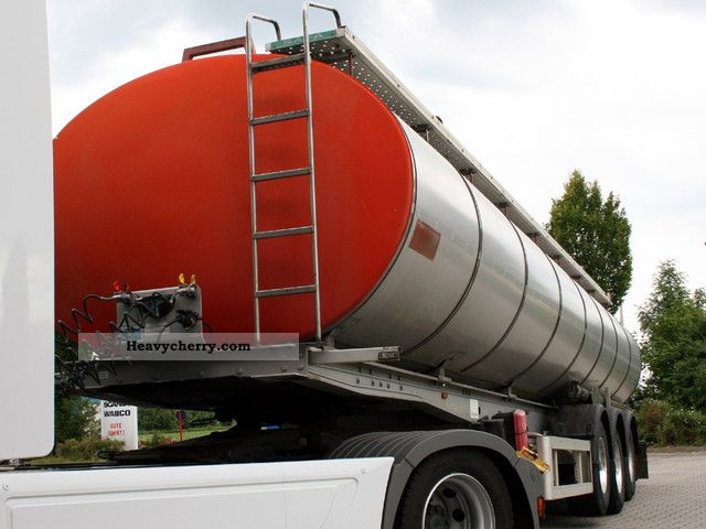 2005 Menci  SAFA bitumen / oil / mazut 300 34 000 Ltr Grd Semi-trailer Tank body photo