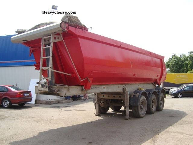 2007 Menci  SA 743 TIPPER * R * Semi-trailer Tipper photo
