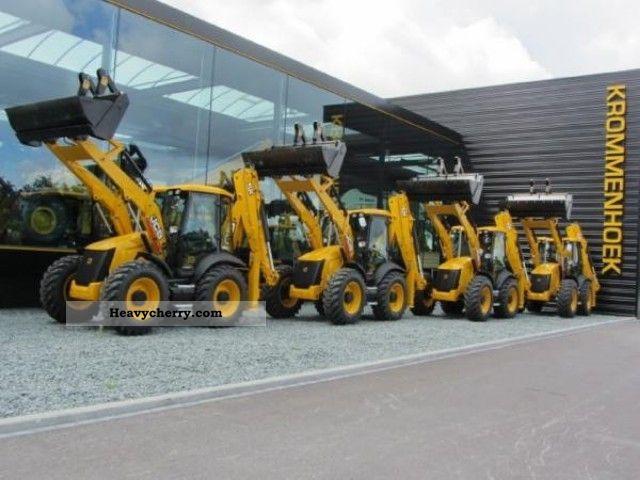 2012 JCB  New 4 CX ECO Site Master - 4 units Construction machine Combined Dredger Loader photo