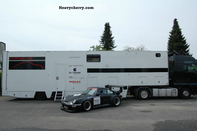 2003 Van Eck  Cars Trucks \u0026 Tractor Semi-trailer Car carrier photo