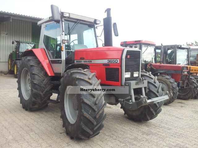 1988 Agco / Massey Ferguson  3650 Agricultural vehicle Tractor photo