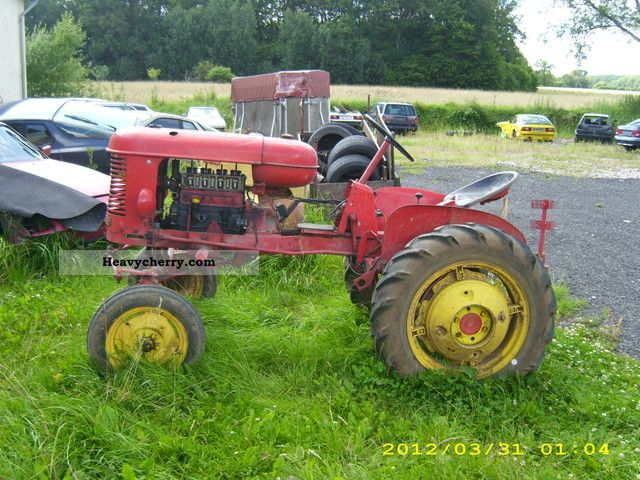 1952 Agco / Massey Ferguson  Massey Harris Pony by Agricultural vehicle Tractor photo