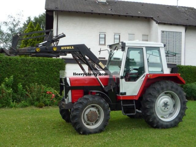 1986 Agco / Massey Ferguson  294AS Agricultural vehicle Tractor photo