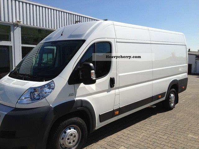 2012 Fiat  Ducato L5H2 150hp + cruise control, air conditioning and much more. Van or truck up to 7.5t Box-type delivery van - high and long photo