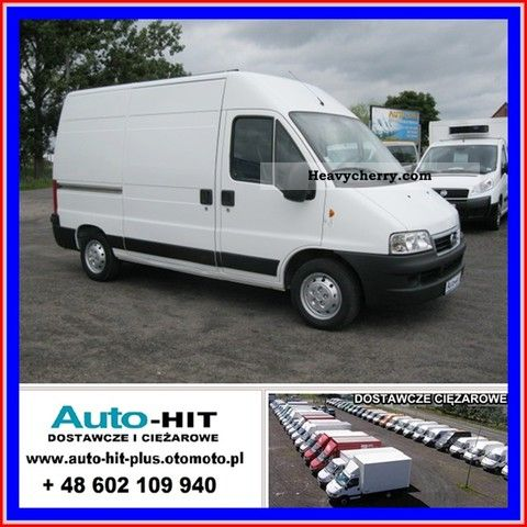 2007 Fiat  DUCATO HIGH * + * LONG I rej. 1/2007 nutz. 1025kg Van or truck up to 7.5t Box-type delivery van - high and long photo