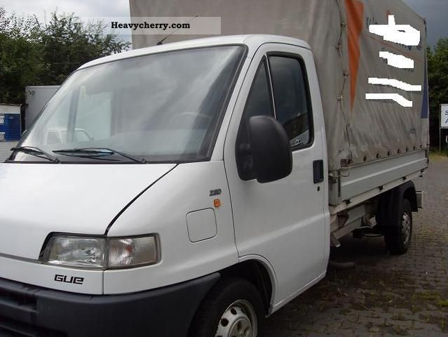 Fiat ducato 2 8 l 2000 stake body and tarpaulin truck for Interieur fiat ducato 2000