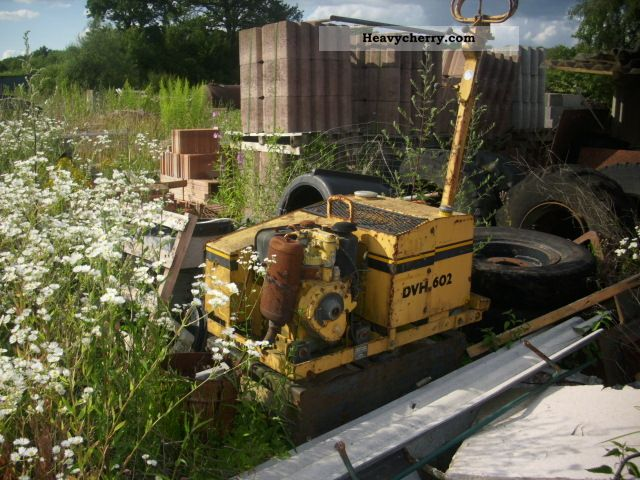1992 Weber  DVH 602 Construction machine Rollers photo