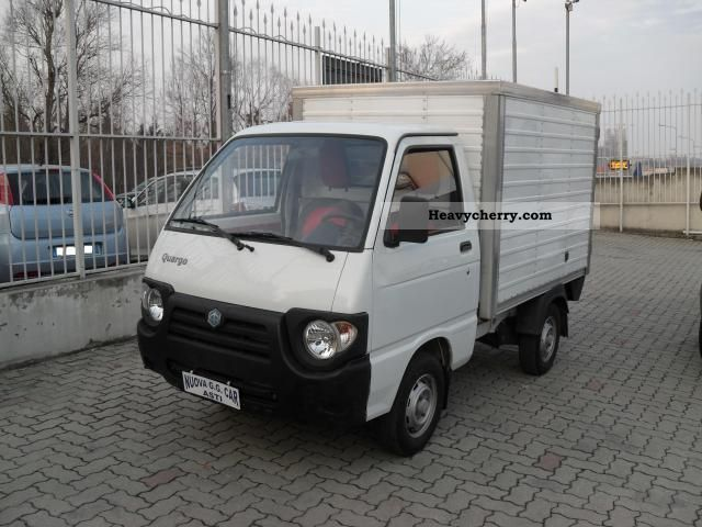 2008 Piaggio  PIAGGIO Quargo Box 700 FP Van or truck up to 7.5t Box photo
