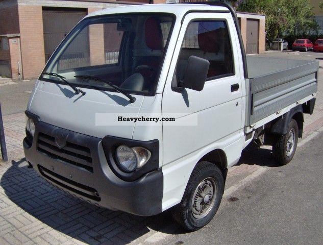 2005 Piaggio  Quargo 700 diesel Cassone fisso Van or truck up to 7.5t Box photo