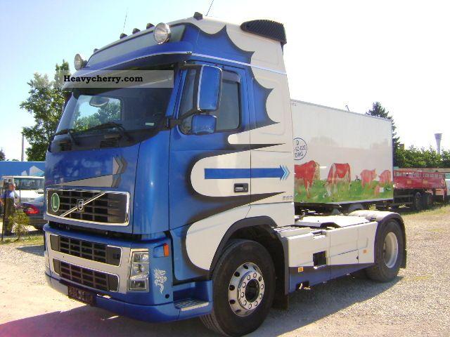 2004 Volvo  16-550 MANUAL FH Semi-trailer truck Standard tractor/trailer unit photo
