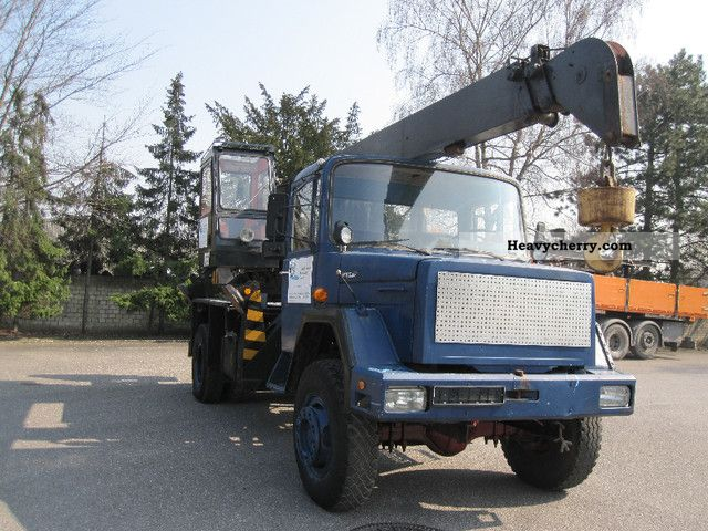 Magirus Deutz 170 D 15 1980 Truck Mounted Crane Photo And