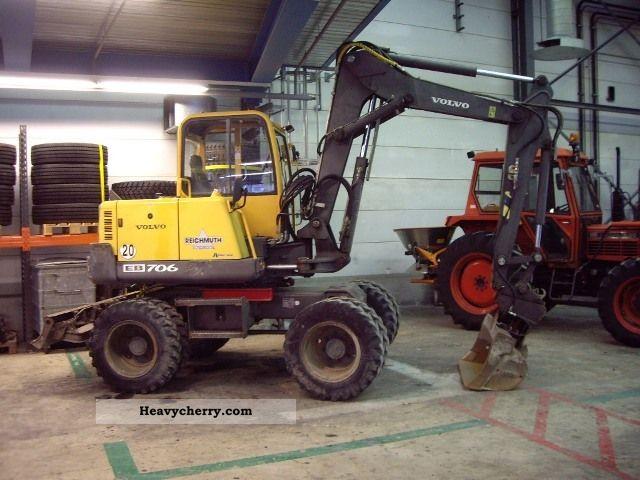 Pel Job Eb 706 2000 Mobile Digger Construction Equipment