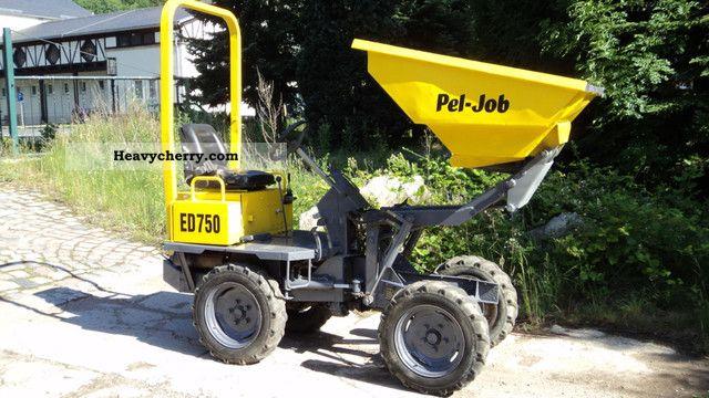 Pel Job Ed 750 1999 Mini Kompact Digger Construction Equipment Photo And Specs