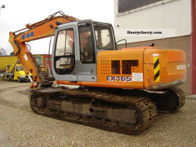 1999 Hitachi  EX 165 Construction machine Caterpillar digger photo