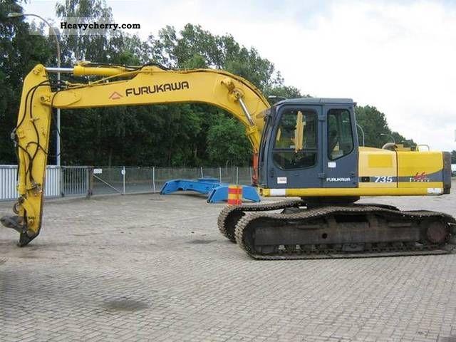 1999 Furukawa  735LS Construction machine Caterpillar digger photo