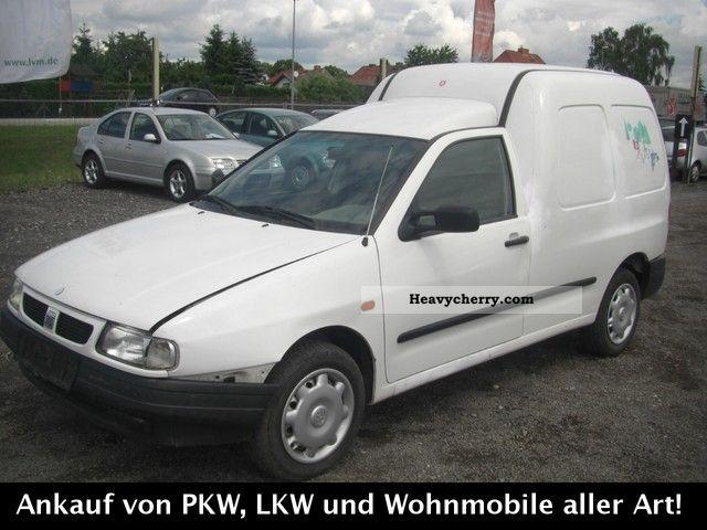 2001 Seat  Inca Van or truck up to 7.5t Box-type delivery van photo