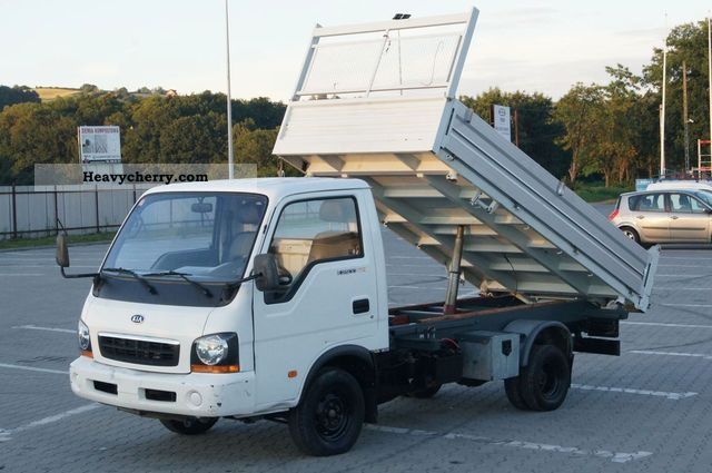 2003 Kia  K2500 3-way tipper 100,000 km Good condition! Van or truck up to 7.5t Three-sided Tipper photo