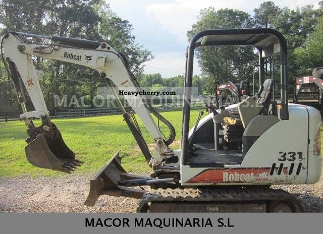 Bobcat 331 2012 Construction Equipment Photo and Specs