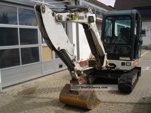 2004 Bobcat  334 G ** (1 hand) Construction machine Caterpillar digger photo