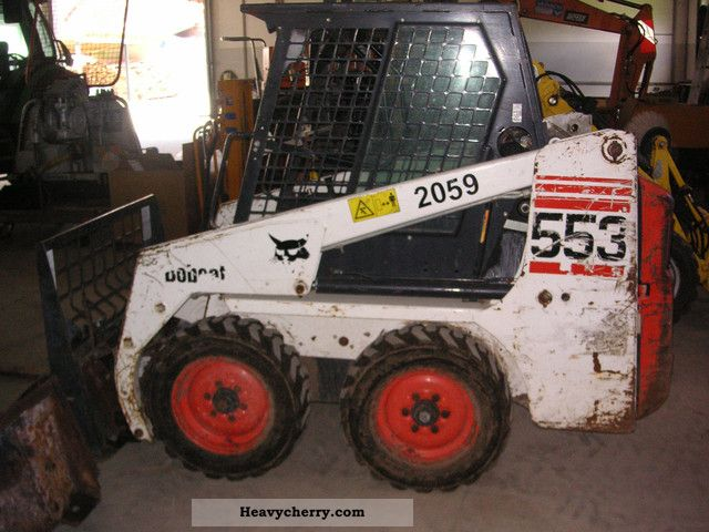 2006 Bobcat  553 Construction machine Wheeled loader photo