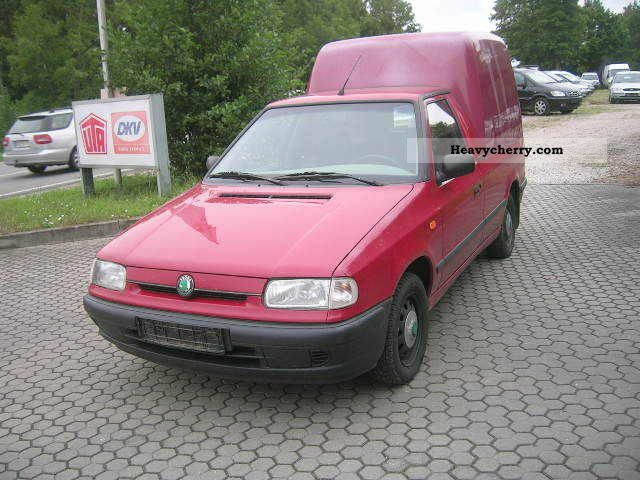 2000 Skoda  Pickup truck Perm. Van or truck up to 7.5t Box-type delivery van photo