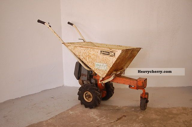 2012 Holder  H4 Agricultural vehicle Loader wagon photo