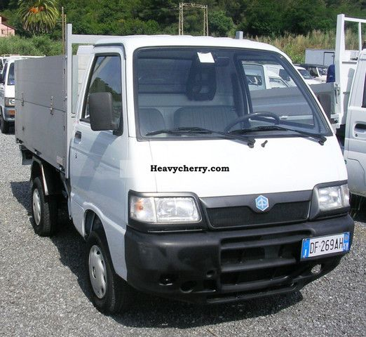 2007 Piaggio  PORTER CASSONATO Van or truck up to 7.5t Box photo