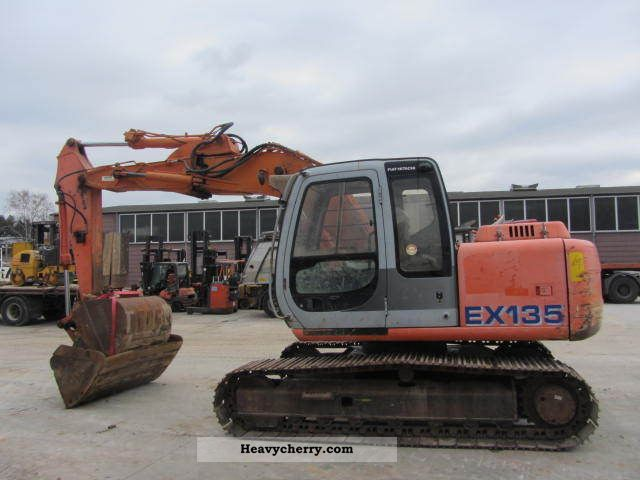 2001 Hitachi  EX 135 excavator ** / SW / AC ** Construction machine Caterpillar digger photo
