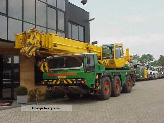 1998 Faun  RTF 40-3 40 TONS CRANE Truck over 7.5t Truck-mounted crane photo
