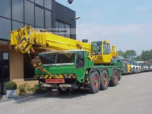 1999 Faun  RTF 40-3 40 TONS CRANE Truck over 7.5t Truck-mounted crane photo