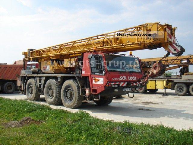 1996 Faun  RTF 40-3 6x6x6 Truck over 7.5t Truck-mounted crane photo