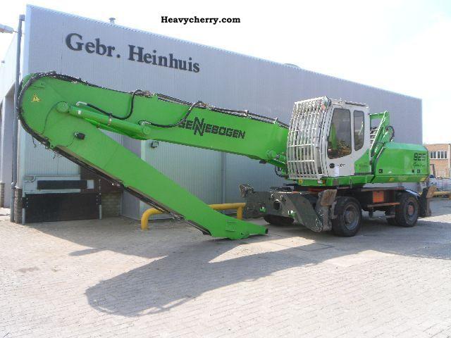 2008 Sennebogen  825 Green Line Construction machine Mobile digger photo