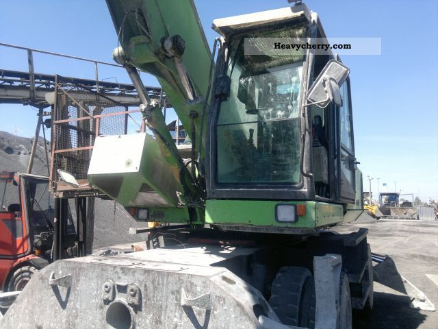 2012 Sennebogen  830M Construction machine Mobile digger photo