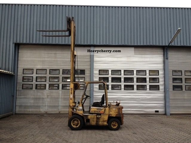Hyster H50XL 1990 Other forklift trucks Photo and Specs