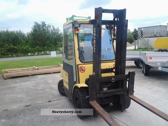 1996 Hyster  2:50 Forklift truck Front-mounted forklift truck photo