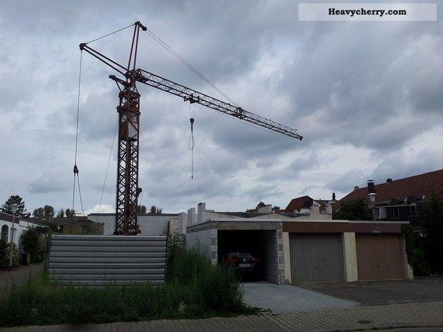 1972 Potain  Peiner SMK 103 Construction machine Construction crane photo