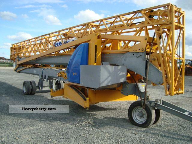2007 Potain  IGO 36 Construction machine Other construction vehicles photo