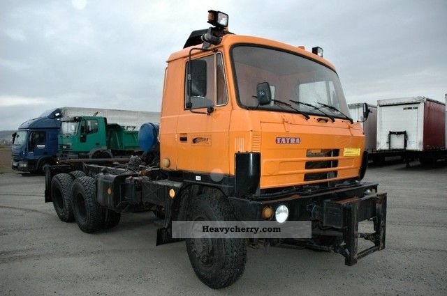 Tatra T815 S3 26 208 6x6 1984 Chassis Truck Photo and Specs