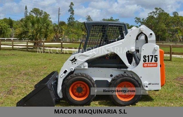 2012 Bobcat  S175 Construction machine Construction Equipment photo