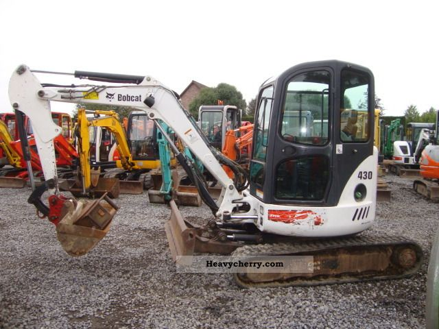 2006 Bobcat  430 Construction machine Mini/Kompact-digger photo