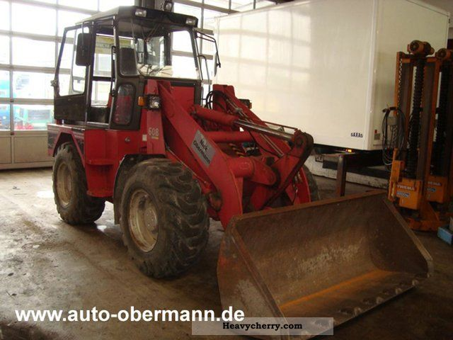 2012 Gehlmax  608 wheel loader Construction machine Wheeled loader photo