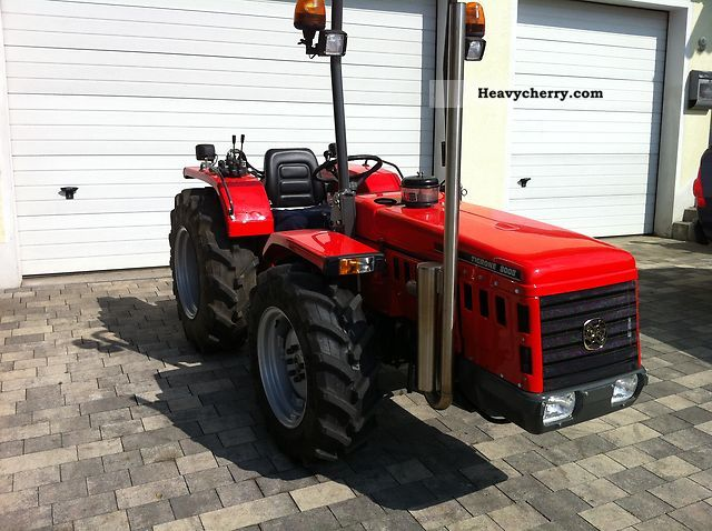 1992 Carraro  Tigrone 8008 Agricultural vehicle Tractor photo