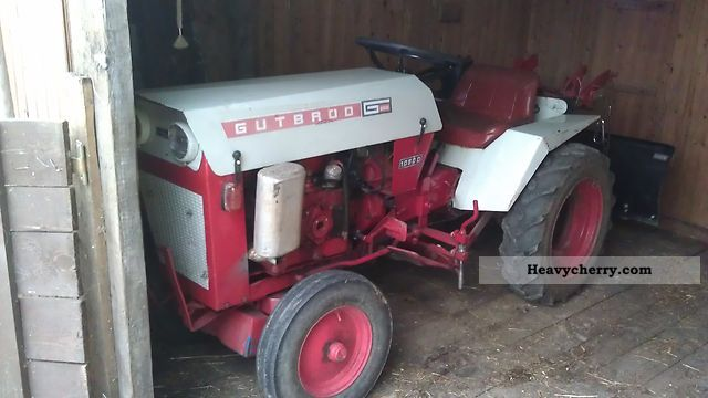 1964 Gutbrod  1050D Agricultural vehicle Other agricultural vehicles photo