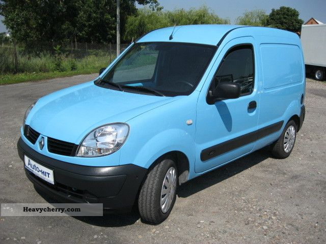 renault air grand kangoo 2008 box type delivery van long photo and specs. Black Bedroom Furniture Sets. Home Design Ideas