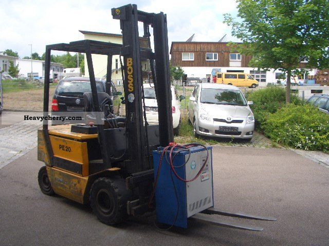1996 Steinbock  PE 20 / Lifting height 4000mm / slide page Forklift truck Front-mounted forklift truck photo