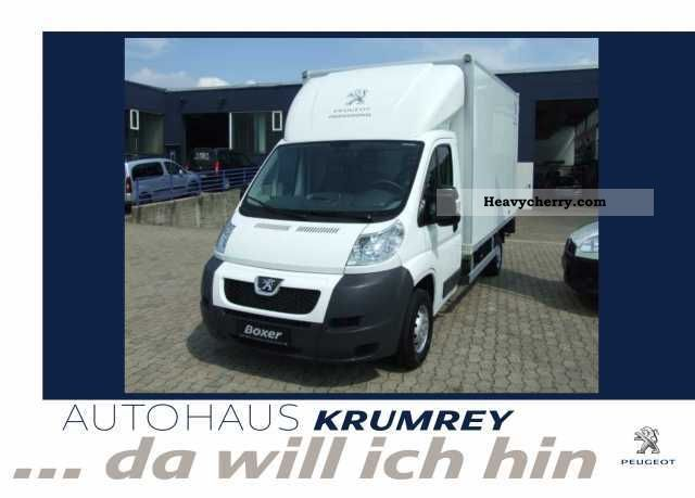 2011 Peugeot  Boxer 335 L3 120 HDI City case (3800mm) Van or truck up to 7.5t Box photo