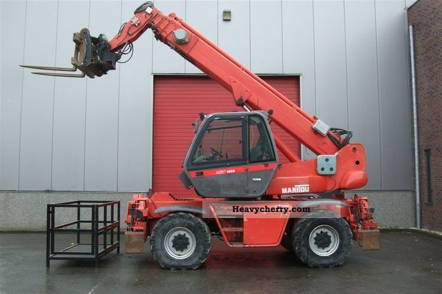 1999 Manitou  MRT 1850 Forklift truck Telescopic photo