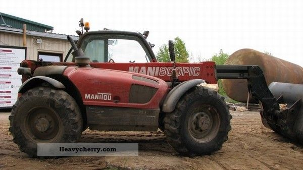 2005 Manitou  MLT731 Forklift truck Telescopic photo