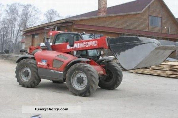 2006 Manitou  MLT731 Forklift truck Telescopic photo